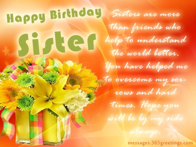 Birthday Wishes For Sister Page 8