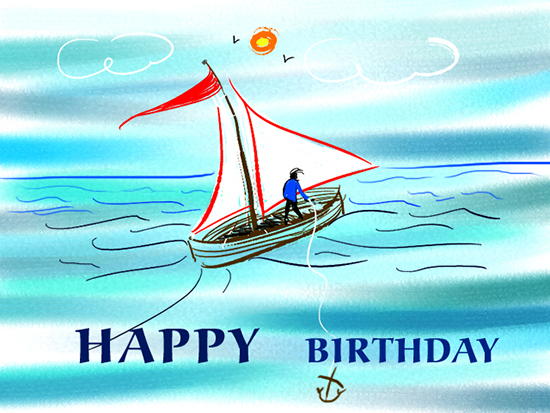 Birthday Wishes For Sailor