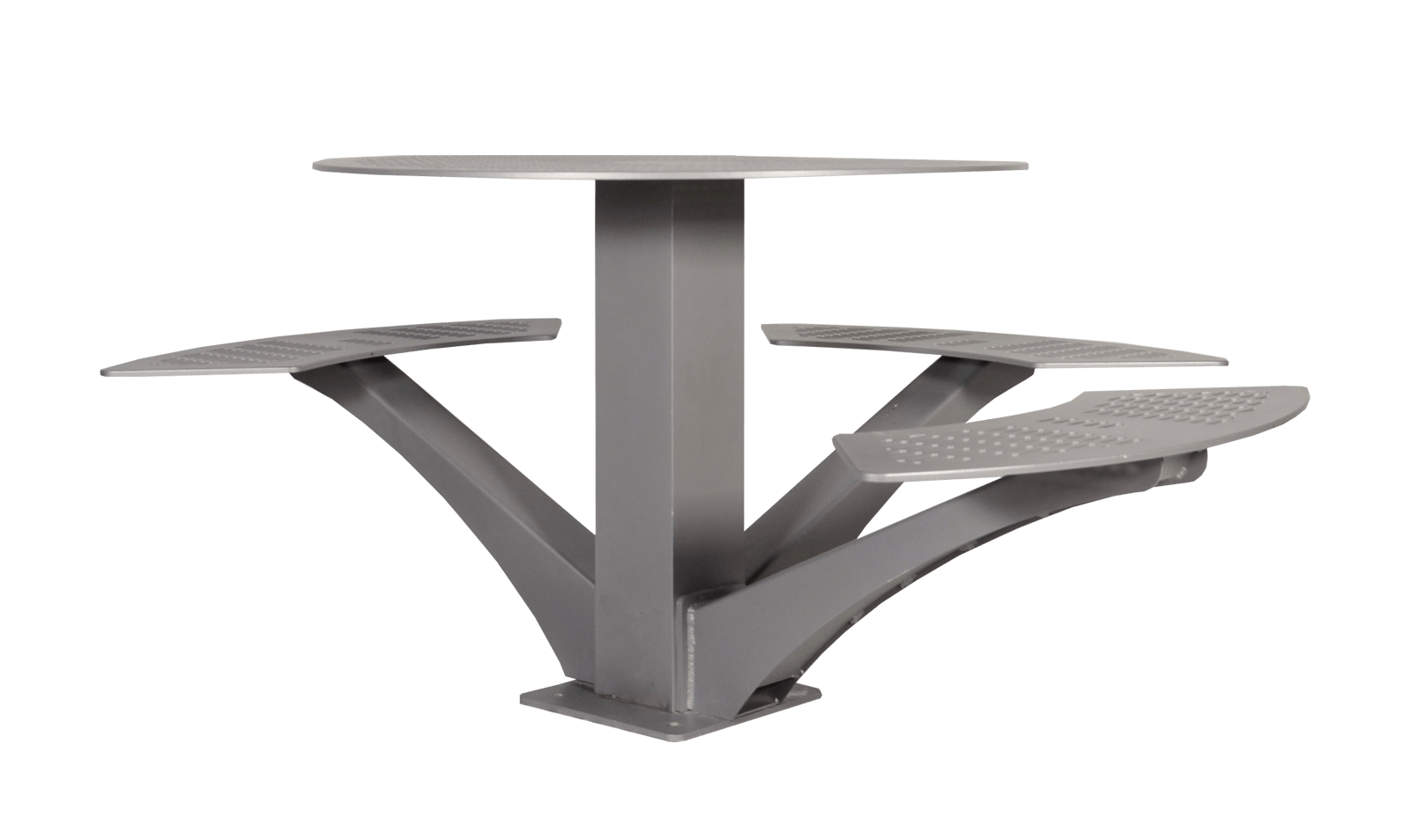 steel chair manufacturing process hanging gumtree urban space round picnic table all aluminum wishbone