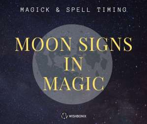 Moon Signs in Magic