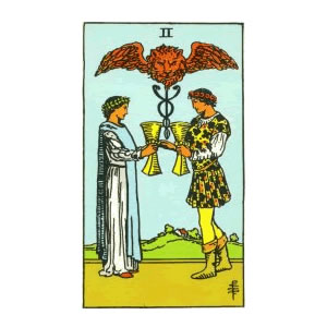 Tarot - Two of Cups