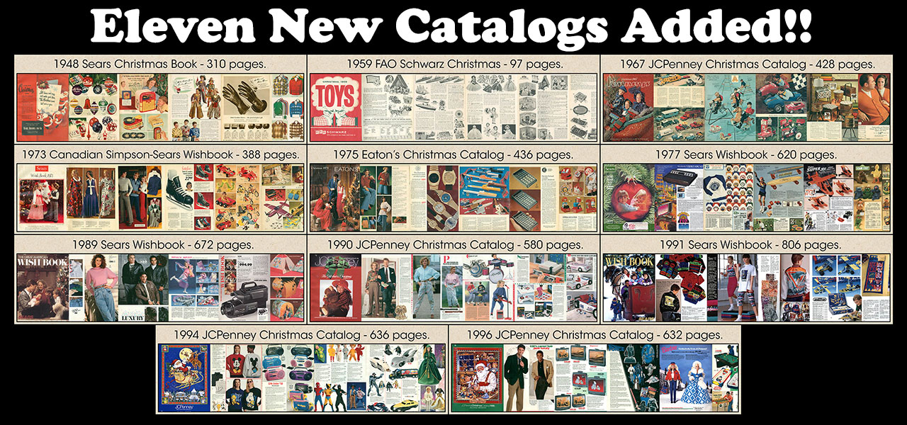 Christmas Toy Catalogs By Mail.Toy Catalog 1958 Neshachan Tags Toycatalog Catalog Christmas