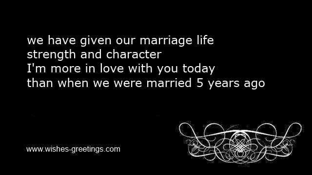 5th wedding anniversary quotes