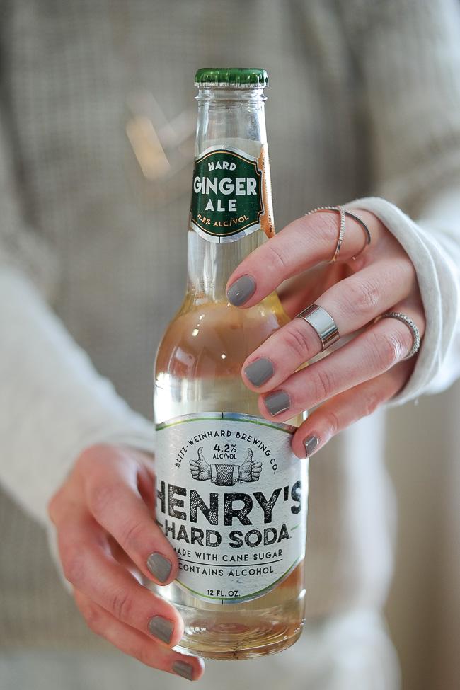 Henry's Hard ginger ale