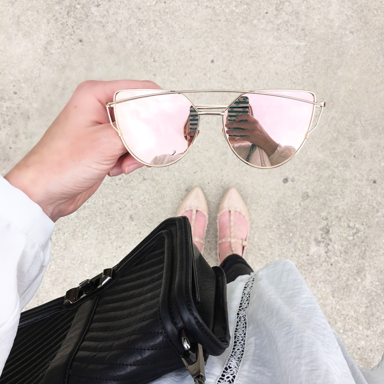 pink-reflective-cat-eye-sunglasses-designer-dupes-instagram