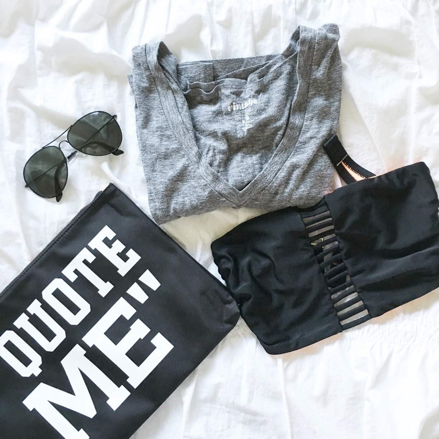 quote-me-banana-republic-clutch-flatlay-last-days-of-summer-pool-day-black-and-white-wishes-and-reality-instagram