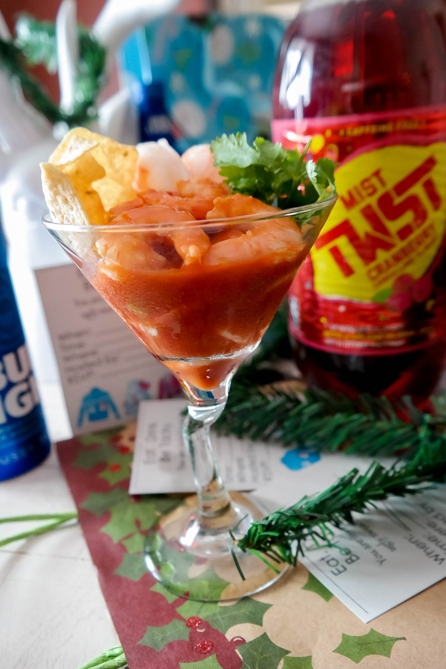 how to throw the ultimate ugly sweater party guide holiday party frito lay mexican style shrimp cocktail