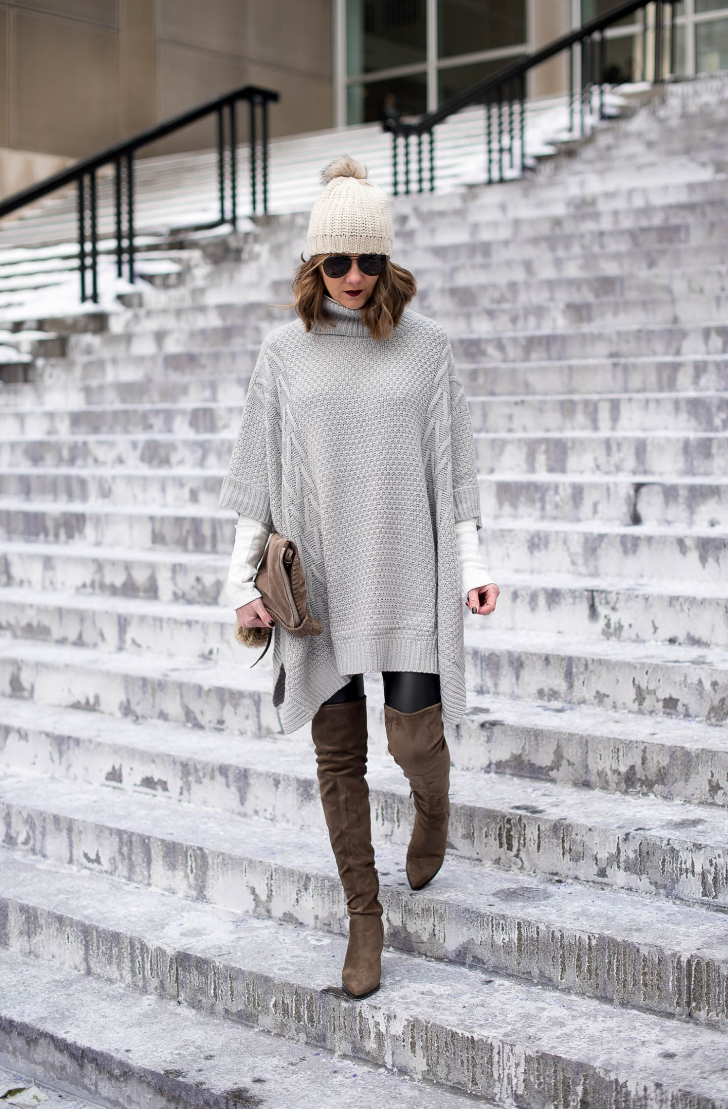 how-to-style-a-ponch-shein-oversized-poncho-the-best-over-the-knee-boots-marc-fisher-alinda-boots-chiberia-staying-warm-and-looking-great