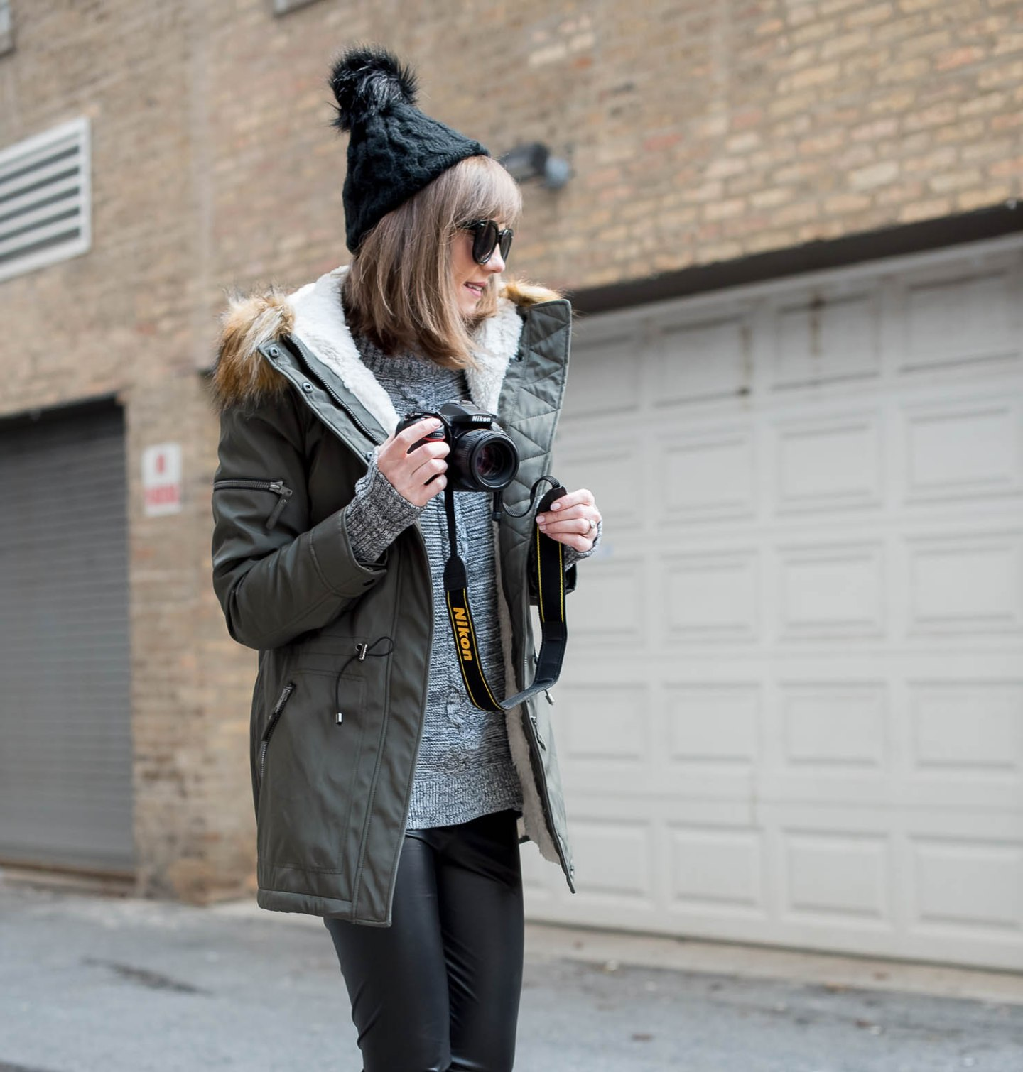 behind-the-scenes-of-a-fashion-blogger-the-best-parka-for-a-chicago-winter-what-camera-do-I-use-Nikon-D7200