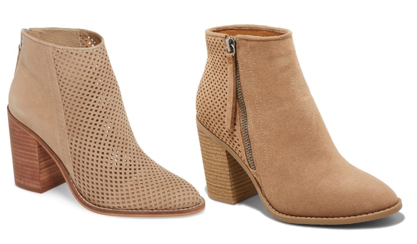 nordstrom anniversary sale dupes, perforated bootie