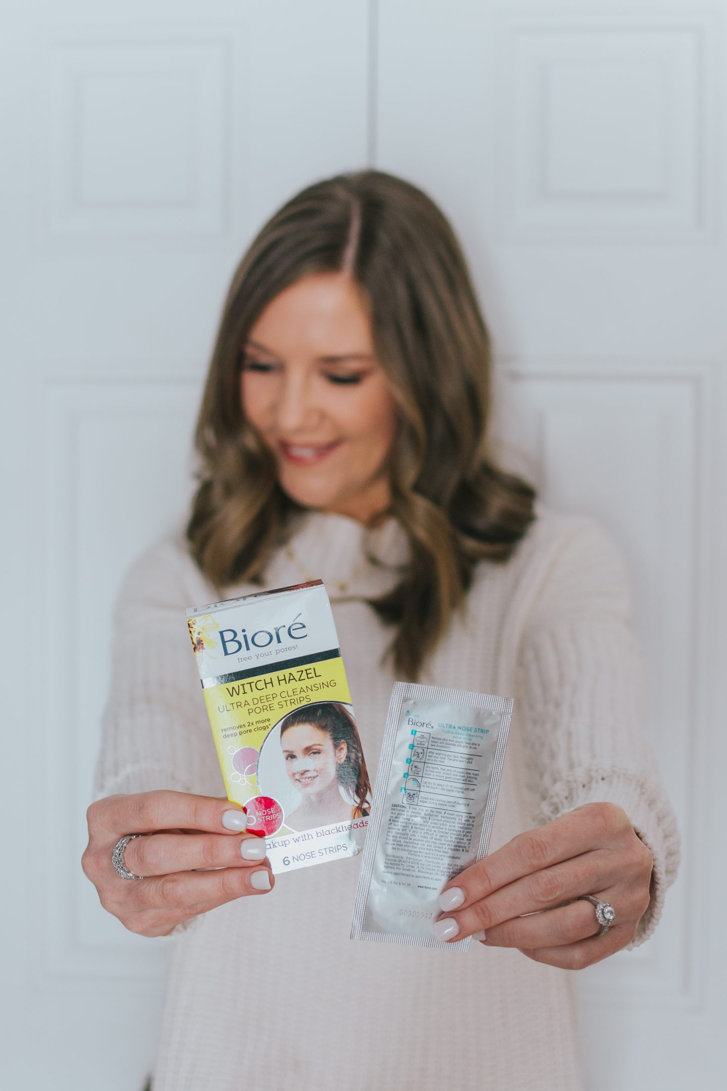 Solutions that Will Transform Your Skin, biore pore strips with witch hazel, pore tightening toner