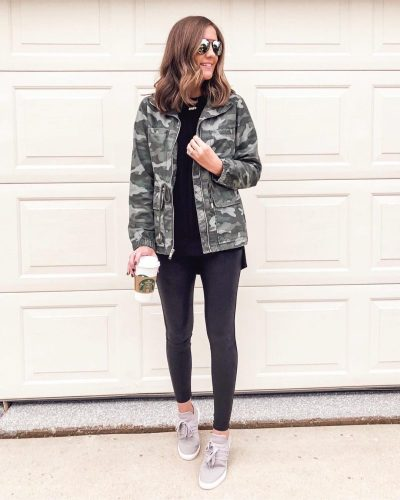 camo-utility-jacket-all-black-casual-outfit-spanx-faux-leather-leggings-steve-madden-sneakers-dupe-leggings-outfit