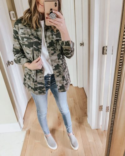 Casual spring fashion finds at Target, Target fashion, Spring Fashion, camo utility jacket