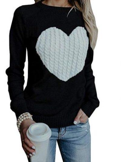 amazon heart sweater