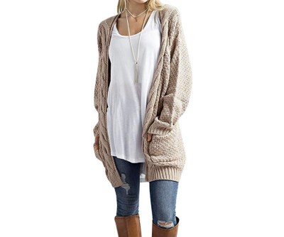 casual wardrobe basics, chunky cardigan, amazon fashion, casual
