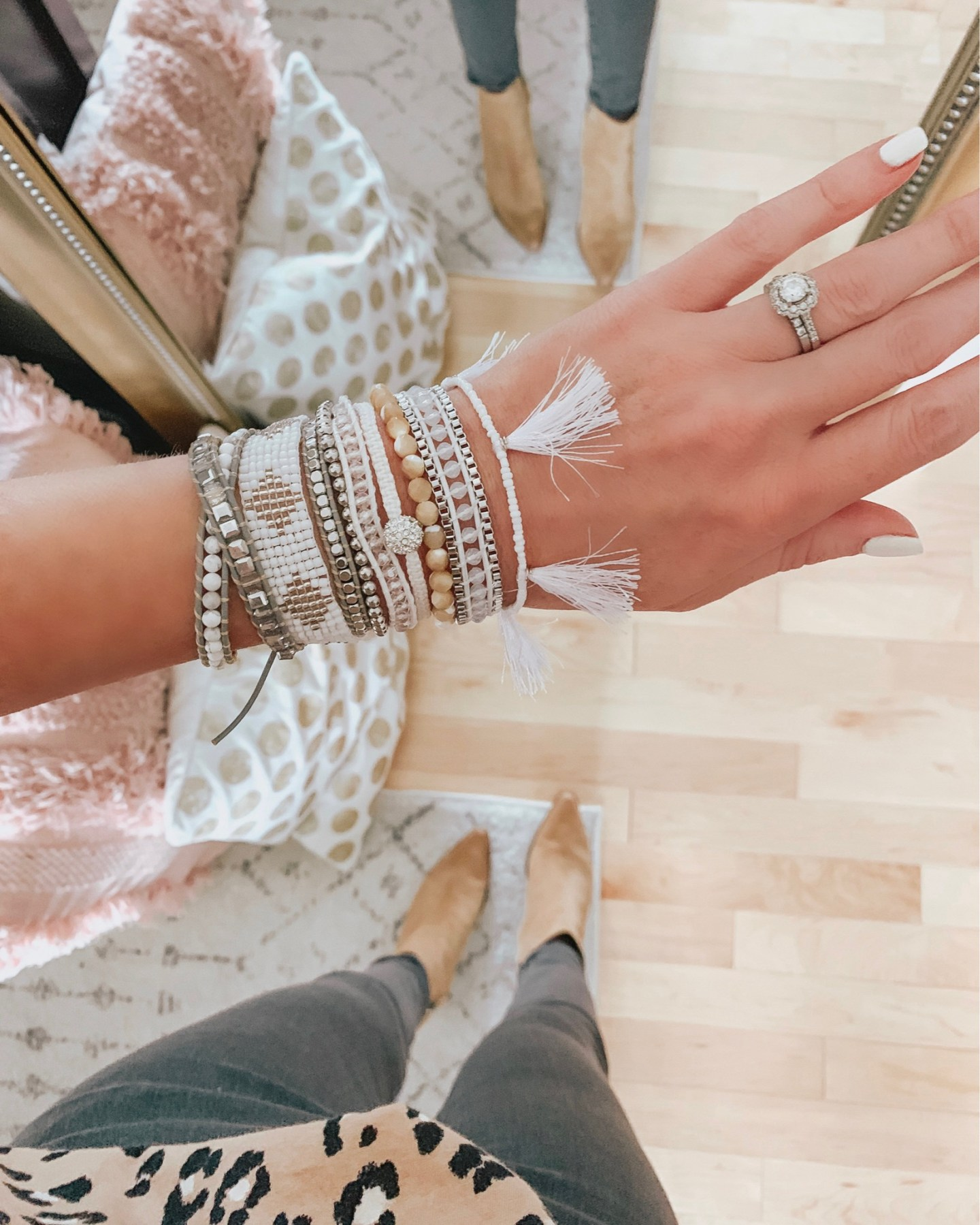 styling wrap bracelets for fall, Victoria Emerson, falls best accessories