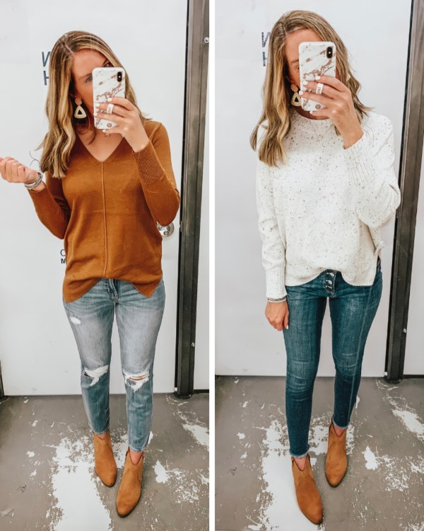 Old Navy fall 2019, jean trends 2019, the best most affordable jean brands, fall sweater trends, fall colors 2019