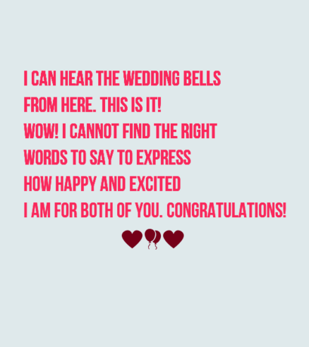40 Romantic Wedding Card Messages | WishesGreeting