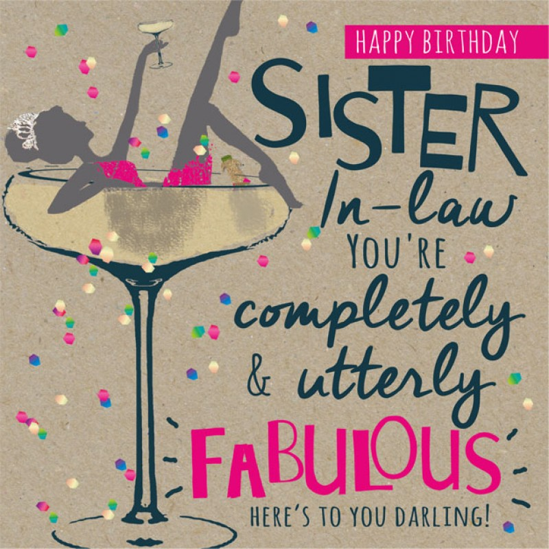 55+ Birthday Wishes for Sister in Law | WishesGreeting