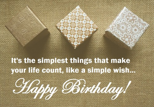 30 simple birthday wishes