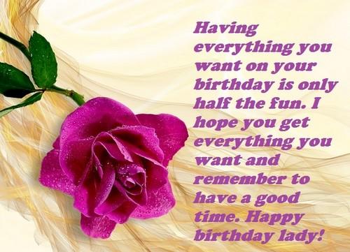 30 happy birthday lady