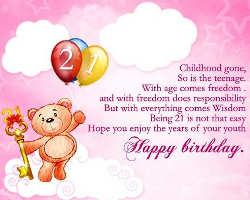 birthday wishes for childhood