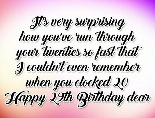 Birthday Wishes Yourself
