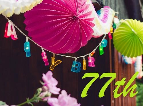 Happy 77th Birthday Wishes WishesGreeting