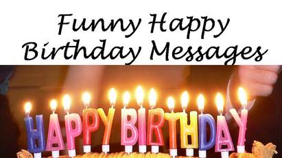 funny birthday messages wishes