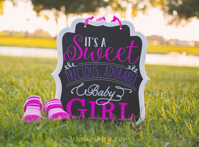 birth announcement messages and