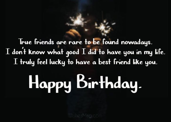 Birthday Wishes from a Girl to a Guy Friend from School