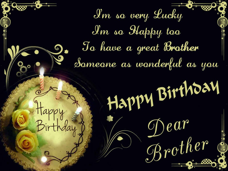 Best Quotes Birthday For Brother