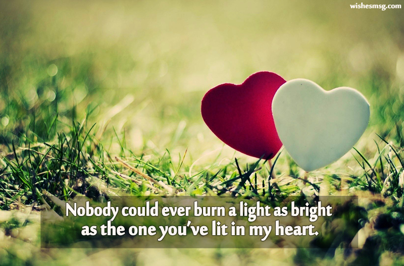 romantic love messages for
