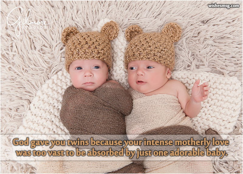 Twin Baby Congratulation Messages Wishes For Twins WishesMsg