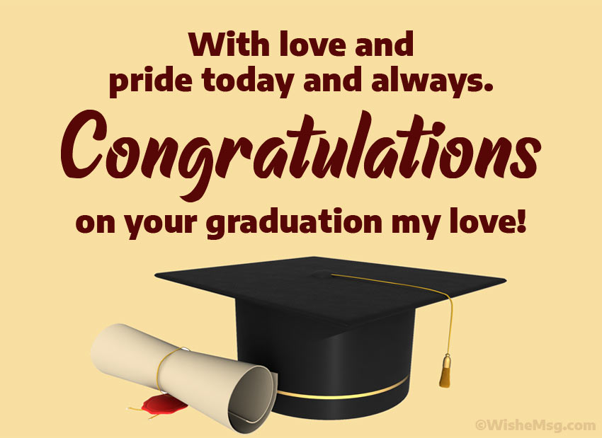 180+ Graduation Wishes, Messages and Quotes | WishesMsg