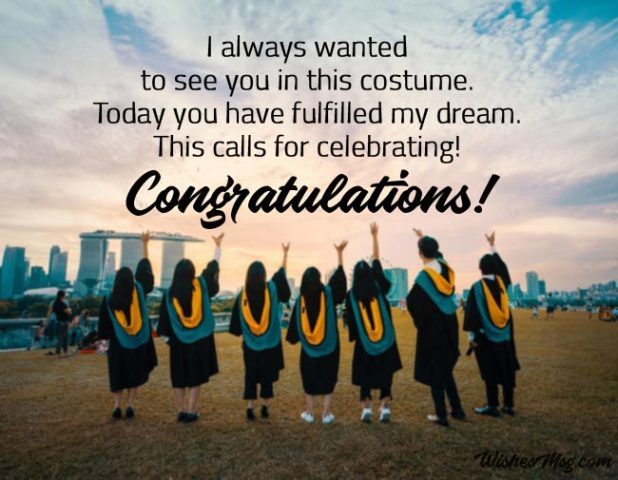 Happy Graduation Wishes for Sister