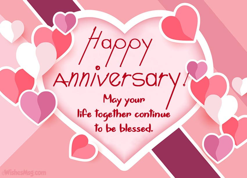 200+ Wedding Anniversary Wishes and Messages - WishesMsg