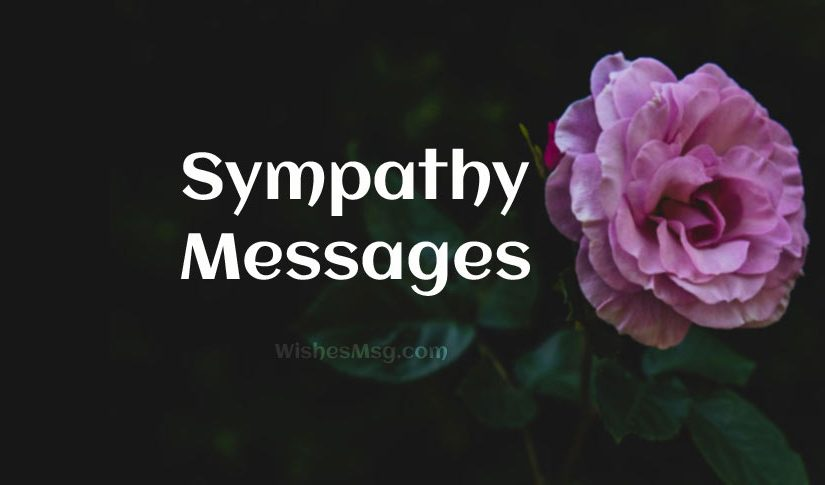 sympathy messages heartfelt sympathy