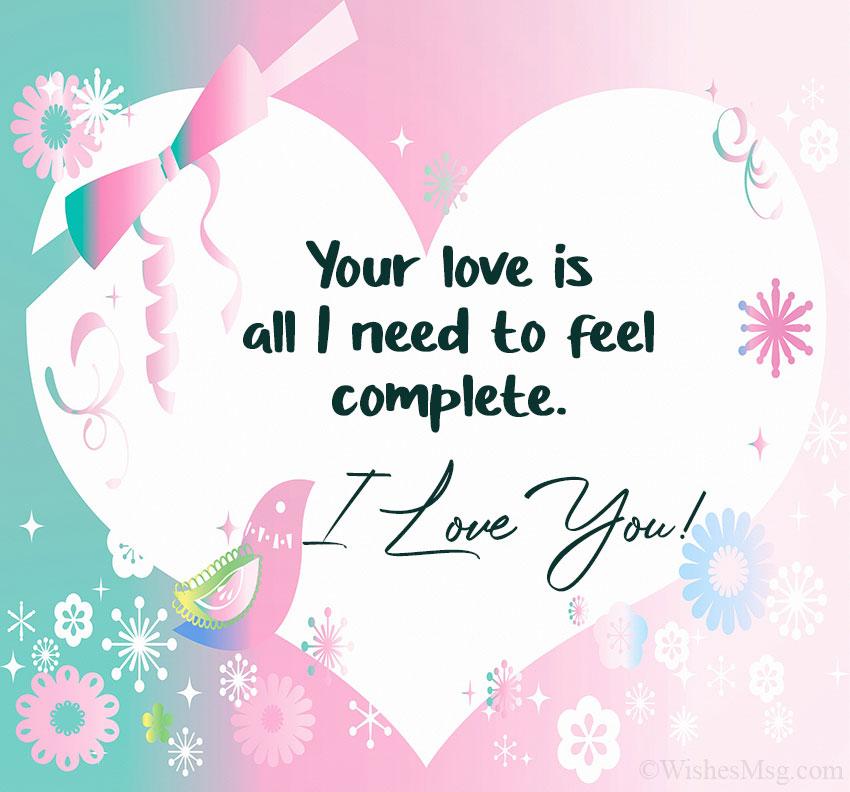300+ Love Messages - Romantic Love Messages | WishesMsg