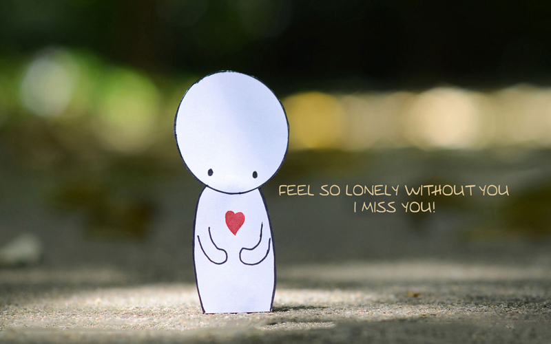 Cute And Romantic Wallpapers Feel Them Best Feeling Alone Messages Heart Touching Lines Wishesmsg