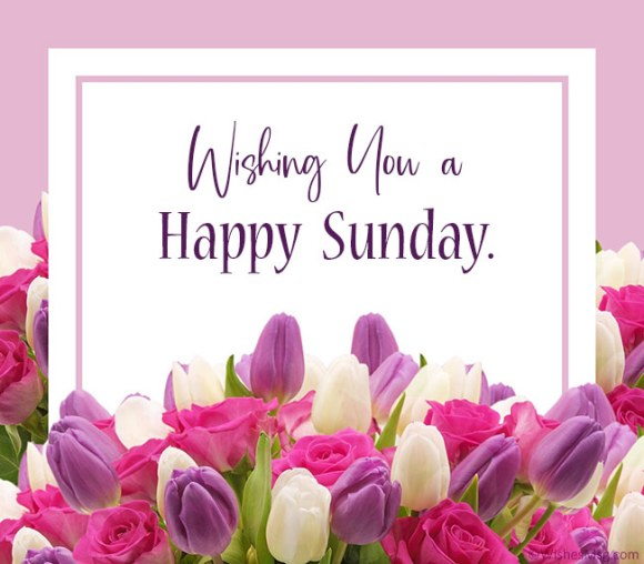 70 Happy Sunday Wishes, Messages and Quotes