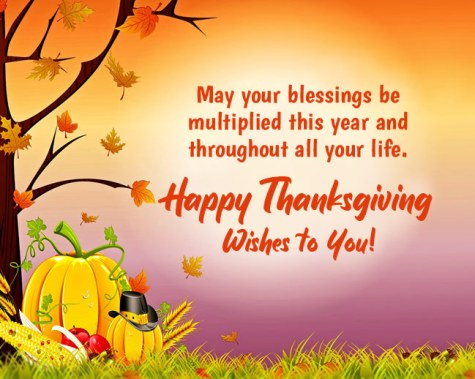 Happy Thanksgiving Blessing Images