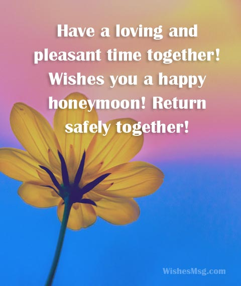 Honeymoon Wishes And Messages For Newly Wed Couple WishesMsg