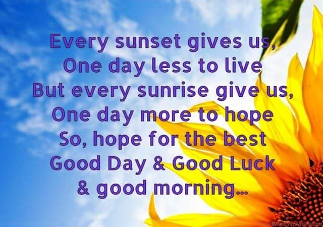 good morning messages for love and friends