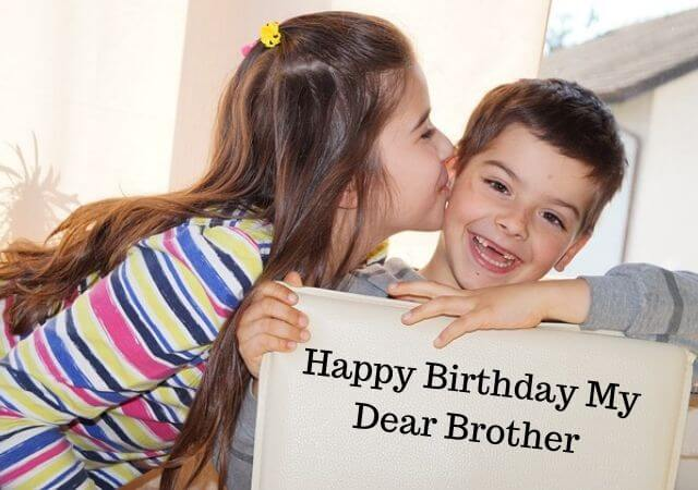 Birthday Messages for Brother from Sister