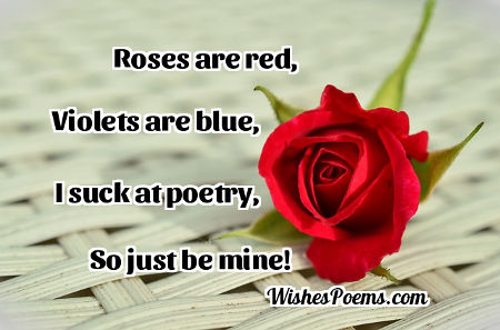 Short Funny Love Poems