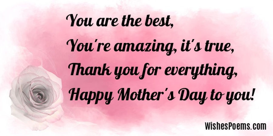 Happy Mothers Day Poems Poems For Mothers Day