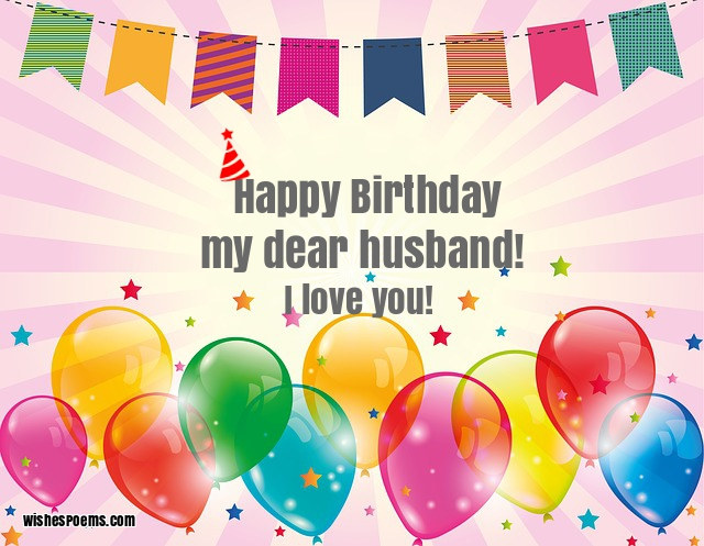 100 Birthday Wishes For Husband