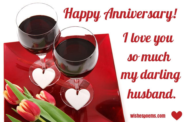 happy anniversary to my husband