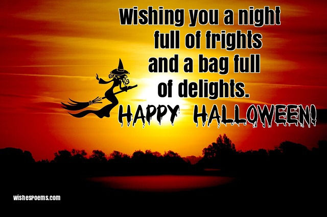 Halloween wishes